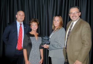 The Excellence In Safety Award Presented To General Dynamics Of Smyth County, Virginia